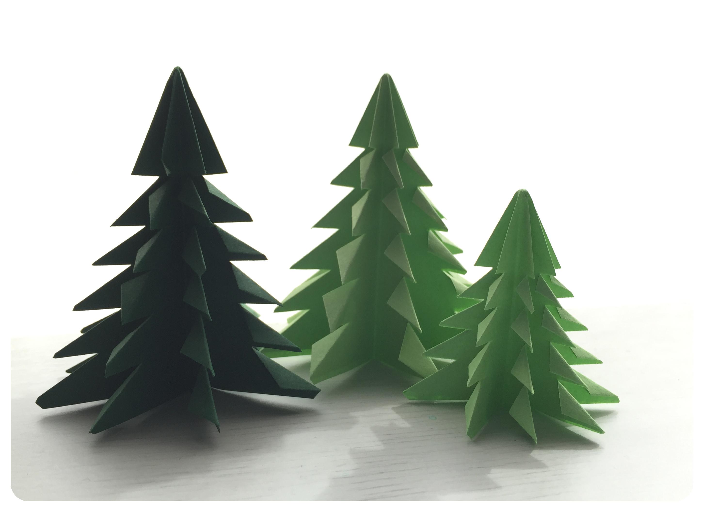 arbolito-origami